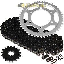 Black O-Ring Drive Chain & Sprockets Kit Fits YAMAHA R1 YZF-R1 2009-2014