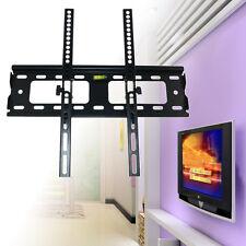 """US Flat Tilt TV Wall Mount For 26 32 37 40 42 46 48 50 52 55"""" LCD LED Load 60Kg"""