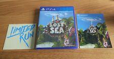 LOST MARE PS4 SONY PLAYSTATION 4 NUOVI/SIGILLATI RARO limitata eseguiti Games