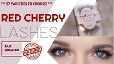 RED CHERRY 100% Human Hair Eyelashes - 27 Different Styles - Handmade Lashes -