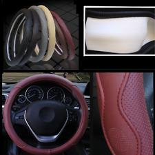 38cm Car SUV Steering Wheel Cover PU Leather Interior Decor Fashion Sport Design