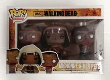The Walking Dead - Michonne & Her Pets Pop! Vinyl Figures - Set of 3 NEW Funko