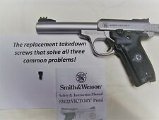 Improved replacement takedown screw for S&W SW22 Victory - All problems solved!
