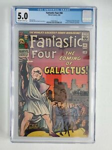 FANTASTIC FOUR #48 CGC 5.0 OW/W (1ST APPEARANCE SILVER SURFER & GALACTUS) KEY