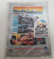 1999 Toyota Grand Prix of Long Beach 25th Anniversary Event Magazine and patch!