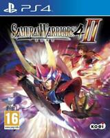 Samurai Warriors 4 II Game For PS4 NEW Fighting Gift Idea NEW OFFICIAL