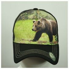 USA US Flag Baseball Cap Animal Farm Trucker Snapback Army Dad Mesh Nature Hat