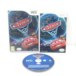 Disney Pixar Cars 2 Wii Complete With Manual Pal Game Free Postage Aus Seller