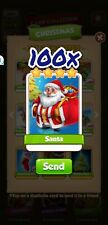 Coin Master Cards 100 Santa