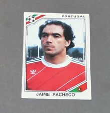 JAIME PACHECO PORTUGAL RECUPERATION PANINI FOOTBALL MEXICO 86 WM 1986
