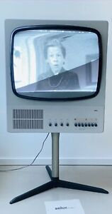 Working 1960s BRAUN FS 80 Tube Television TV Dieter Rams Design 1965 Germany