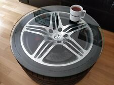 "PORSCHE Brembo 997 911 Turbo Tisch 65cm 19"" Felge Einzelstück Hingucker Original"