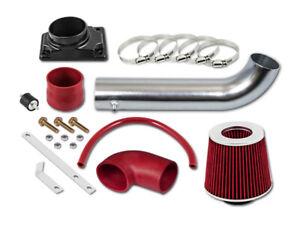 GSP Red Short Ram Air Intake Kit + Filter 01-06 Dodge Stratus 2-Door Coupe