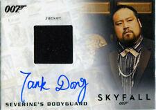 James Bond Archives 2017 Final Autograph Costume Card Tank Dong #278/500