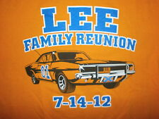 General LEE FAMILY REUNION SHIRT Dukes of Hazzard Car Confederate License Plate