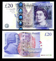 UNC Sign Chris Salmon UK P 391 d Great Britain England 5 Pounds P 391d 2012