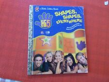 LITTLE GOLDEN BOOK - HI 5 , SHAPES SHAPES EVERYWHERE