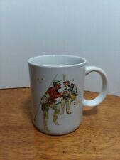 Norman Rockwell Museum Collection 1987 Trout Dinner Mug Excellent Condition