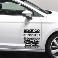 10 X RACING STICKERS Funny Car Window Bumper JDM VW VAG Vinyl Decal Sticker