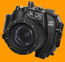 Carcasa Submarina Para Canon Eos 600d Kiss X5 Rebel T3i Cámara Impermeable caso