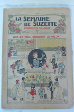 LA SEMAINE DE SUZETTE  5ème ANNEE  1909  -  N° 12