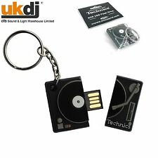 Technics Turntable Official Merchandise 8GB USB Flash Drive High Speed 2.0