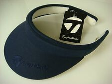 NEW WITH TAGS TAYLOR MADE LADIES SPLIT CLIP NAVY BLUE GOLF VISOR