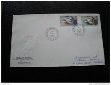 TAAF carta 1/1/81 - sello stamp - yvert y tellier nº89 90 (cy8) (A)
