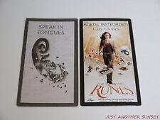 Mortal Instruments City of Bones World Runes Rune Card Single Speak in Tongues