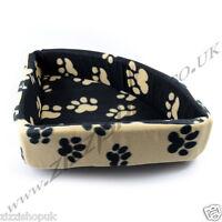 Luxury Dog Puppy Pet Washable Corner Bed Small Medium Soft Warm Cushion Fleece