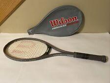 Wilson American Ace Midsize Tennis Racket 4-1/2 Grip  w/ Cover