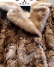Occasione!! Pelliccia giaccone per donna in gole di visone - Taglia M (42/44)