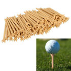 100 Pcs/Pack Professional Frictionless Golf Tee Wheat Golf Tees Plastic&L New