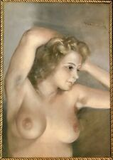 Original by Pal Fried (Hungarian/American, 1893-1976) Female Nude, Oil on canvas