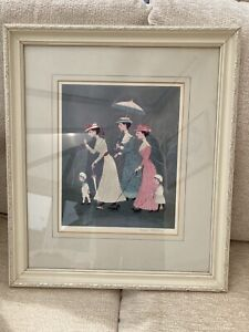 Helen Bradley Limited Edition Signed Print 'oh Look Said Mother' In Frame.
