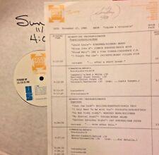 RADIO SHOW:COPIES/ORIGINALS 11/17/86 RICHARD BERRY, LINDA RONSTADT, CRICKETS,CCR
