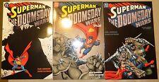 SUPERMAN THE DOOMSDAY WARS 1 2 3 & 1995 ANNUAL DC COMICS SET DAN JURGENS