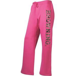 Browning Hot Pink Fuchsia Sweats Sweatpants Mossy Oak Camo Lounge Pants