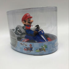 Super Mario Kart Mario Pull Back Racer PVC Plastic Figure Collectible Car Toy 5""