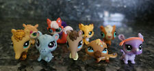 Littlest pet shop lot 9 piece anteater playtypus fox rhino and more