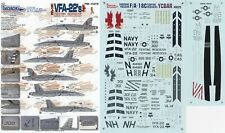 TWO BOBS DECALS 1/48 F/A-18C Hornet VFA-22 Redcocks CAG (USN)