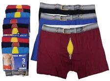 Men Boxer Shorts Free Willy Funny Novelty Underwear PK3 6 12 S M L XL