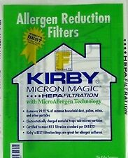 Kirby Micron Magic Hepa Filtration 3 Pack