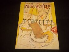 1948 JANUARY 3 NEW YORKER MAGAZINE - BEAUTIFUL FRONT COVER FOR FRAMING- J 1381