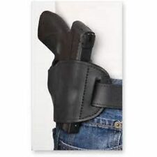 Bulldog OWB Leather hip Gun Holster For Smith & Wesson M&P Shield 45