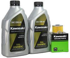 2009 Kawsaki KLX140B9FA (KLX140L Monster Energy)  Full Synthetic Oil Change Kit