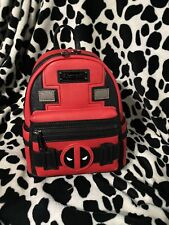 Loungefly Deadpool Marvel Mini Backpack New With Tags