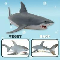 27CM Lifelike Shark Large Size Toy Realistic Motion Animal Model Gift