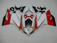 Cowling Kit Fairing Bodywork Kits work for Ducati 1199 Panigale S 12-14 white