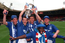 More details for stunning 16x12 photo everton 1995 fa cup winners (ev-059)